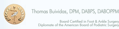 Thomas Buividas, DPM | Archer Foot and Ankle Clinic